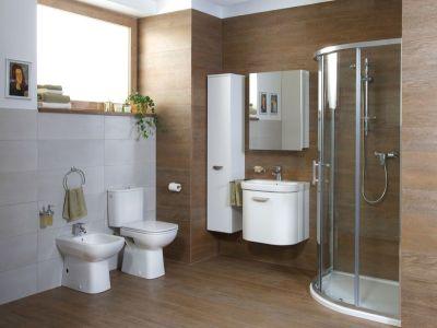 Koupelna v jednom stylu