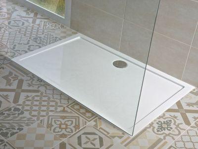 Logo Sprchové vaničky zlitého mramoru