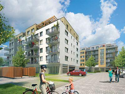 Logo Projekt Prosek Park IX. nabídne nové byty kprodeji