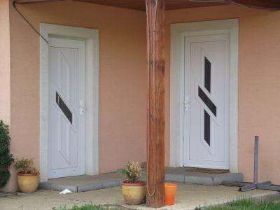 Dveřní výplň - tvář vchodových dveří