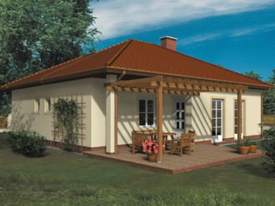 Typovým domem listopadu 2015 se stal zděný bungalov PANTHER