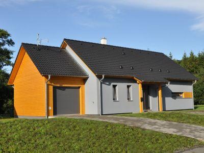 Pěkný dům, který se přizpůsobil stavebníkovi