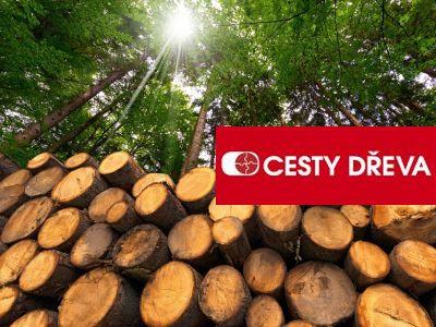 Logo Lednový veletrh FOR PASIV doplní projekt CESTY DŘEVA