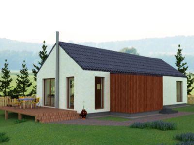 Typovým domem ledna 2016 se stal bungalov JANA 1