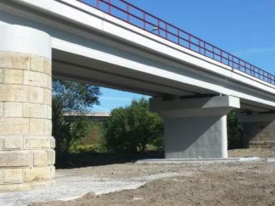 Logo Sanace železničních mostů materiály Knauf TS