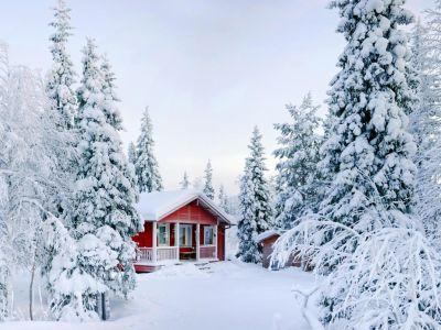 Jak se postarat o chatu a chalupu po zimě