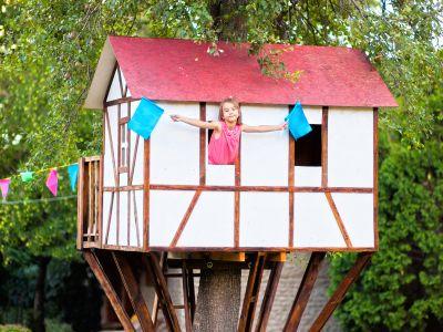 Logo Udělejte dětem radost jejich vlastním domkem