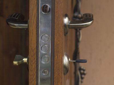 Logo 5klíčových faktorů odolnosti bezpečnostních dveří