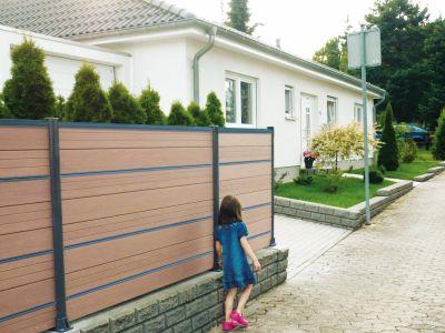 WPC zástěny a ploty pro vaše soukromí