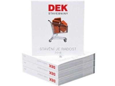 Stavbou podle Katalogu Stavebnin DEK uspoříte peníze a čas
