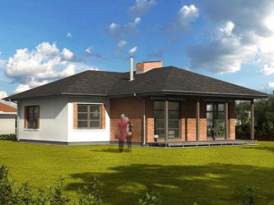 Typovým domem července 2016 se stal bungalov BLW 521