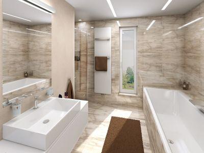 Nejzdařilejší 3D návrhy koupelen s designovými radiátory