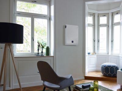 Logo Ideální větrání pro rekonstruované objekty amalé byty