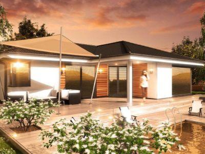Typovým domem září 2016 se stal prostorný bungalov Nativa