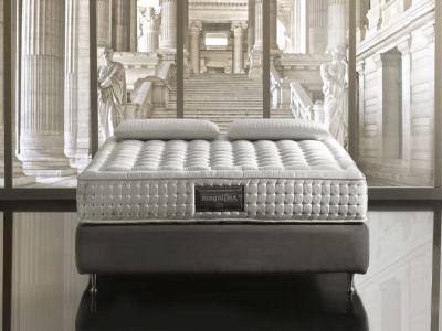Logo Luxusní vysoké matrace nabízí výjimečné materiály iřemeslné mistrovství