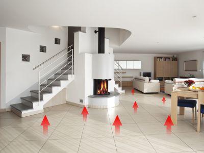 Nízkoteplotní podlahové topení Top Heating