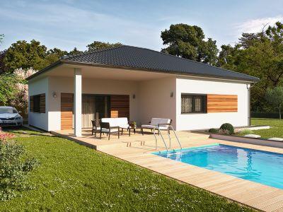 Typovým domem října 2016 se stal bungalov VEXTA B92