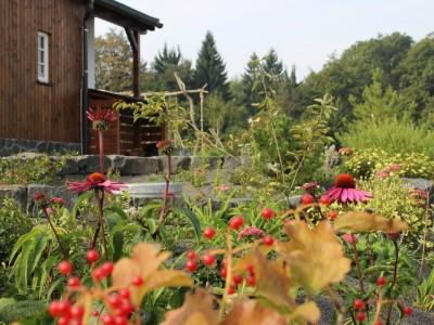 Logo Přírodní zahrada vLužických horách