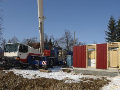 Jaké venkovní stavební práce lze provádět v zimě?