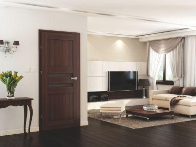 Využijte akční set interiérových dveří, zárubní a kliky