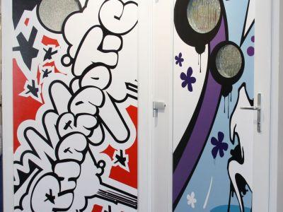 Logo Dveře vestylu Graffiti