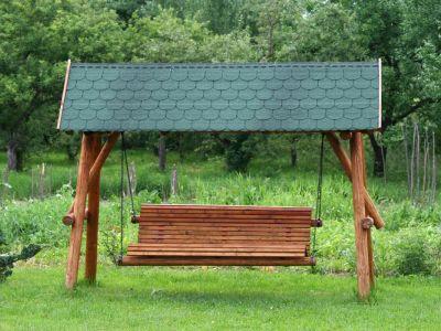 Inspirace zahradními lavičkami