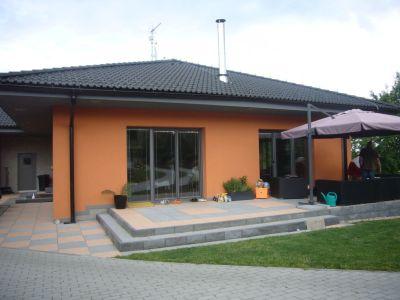 Zděný bungalov s vnějším zateplením z EPS