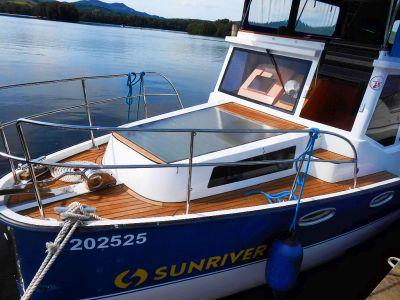 Výletní loď, kterou pohání slunce