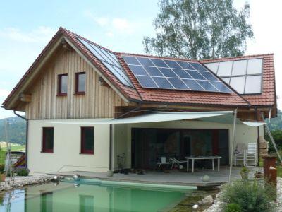 Nízkoenergetický dům s prosklenou jižní stěnou