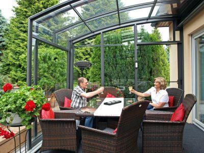 Jak relaxovat na terase za jakéhokoli počasí