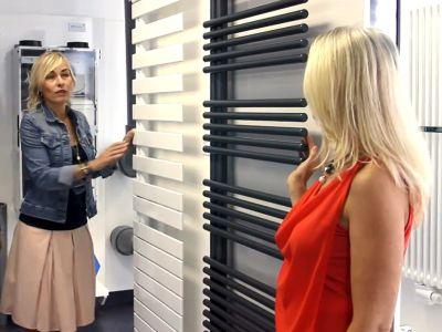 Asymetrické radiátory koupelně sluší