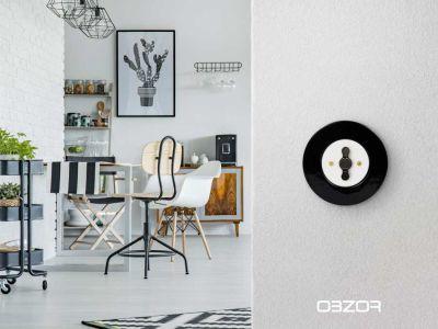 Logo Retro vypínače budou třešničkou nadortu vašeho interiéru