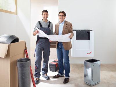 Bezplatné návrhy a technická podpora pro komfortní větrání a rekuperaci tepla