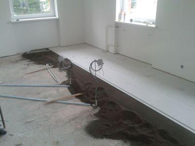 Podlahy v novostavbě realizované suchou cestou
