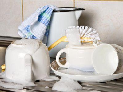 Logo Jak umývat nádobí šetrněji?