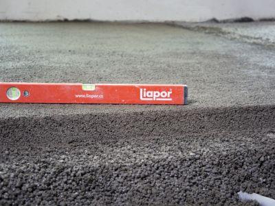 Podlahy z lehkého betonu a jejich výhody