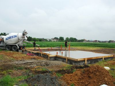 Jak se staví základy domu