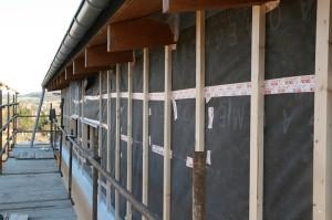 Parozábrana stěny