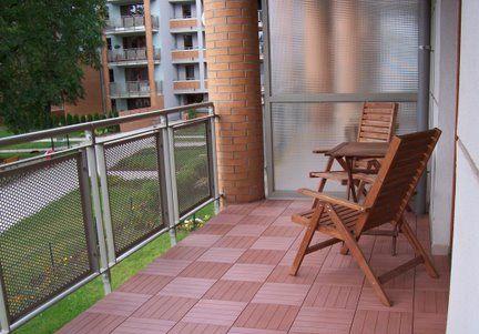 Plastová podlaha na balkon