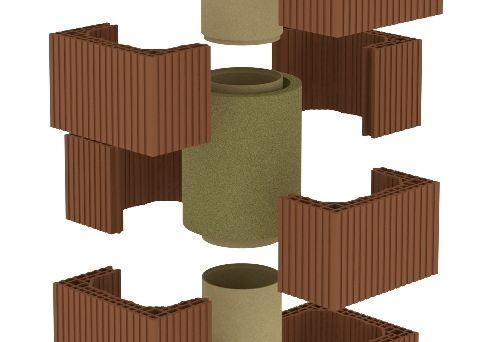 Izolace komínové vložky