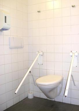 Bezbariérová toaleta