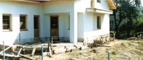 Foto původního stavu před založením zahrady