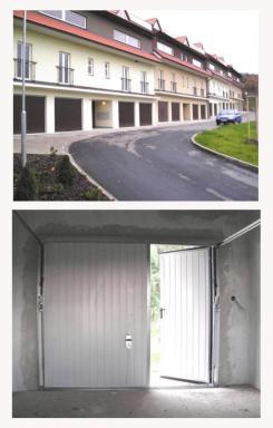 Foto MDI - DRÁŽDIL - výklopná vrata.