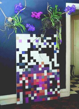 Foto Holandská květinářská kancelář. Vanda.
