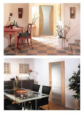 Foto DVEŘE CB - moderní dveře, zárubně, kování a podlahy.