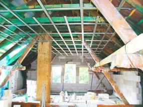 Foto M. TUREK - RENOVA - rekonstrukce, sádrokartony, podkroví