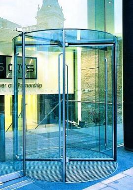 Foto A.T.A. technik spol. s.r.o. - Vstup do špičkové kancelářské budovy v Londýnské City