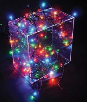 Efektový řetěz s LED diodami