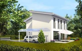 Foto DENNERT montované nízkoenergetické rodinné domy - dům ALFA