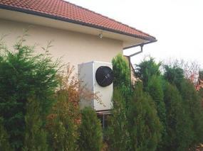 Tepelné čerpadlo vzduch/voda (Foto Kostečka Group spol. s r.o.)